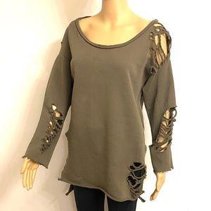 NSF Distressed Sweatshirt